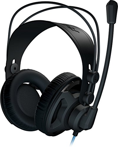 Roccat by Fiducia Renga B-WARE Over Ear Stereo Gaming Headset für PC PS4 Xbox Smartphone + Fiducia Mauspad