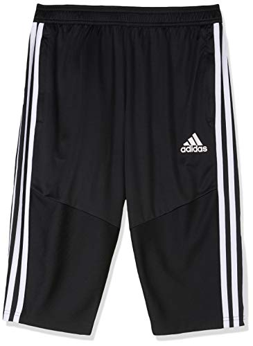 adidas TIRO19 3/4 Pants, Black/White, 15-16 Years -