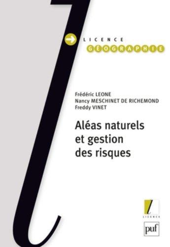 Aléas naturels et gestion des risques de Nancy Richemond (23 juin 2010) Broché