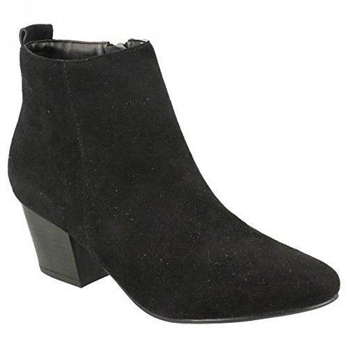 Spot On - Bottines à talon - Femme Noir