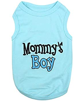 Parisien pour Animal Domestique Mommy's Boy T-Shirt, Medium