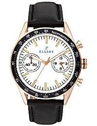 Elliott Reloj Analogico para Unisex de Cuarzo con Correa en Cuero ELT1308