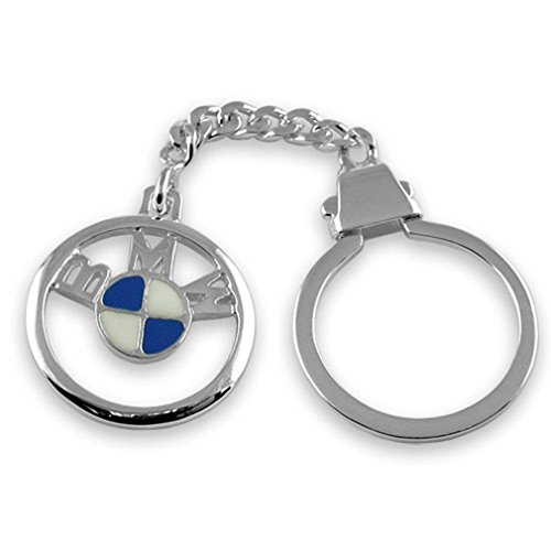 porte-cles-bmw-email-argent-sterling
