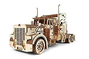 UGEARS UGE 412086 puzle 3D - Puzles 3D (541 Pieza(s), Heavy Boy Truck, 14 año(s), 240 - 480 min, Niño, Madera contrachapada)
