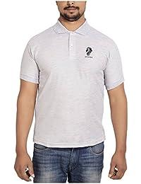 SPHINX Men's Rich Cotton Polo T Shirt - GREY (XXL)
