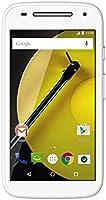 Motorola Moto E 4G Smartphone débloqué 4G (8 Go - Ecran : 4,5 pouces - Simple SIM - Android 6.0 Marshmallow) Blanc