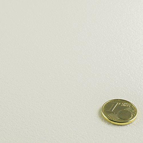PVC Bodenbelag Einfarbig Uni Weiss White Breite 3 m (11,95 € p. m²)