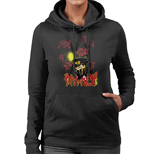 Yare Yare Daze JoJos Bizarre Adventure Women's Hooded Sweatshirt Black