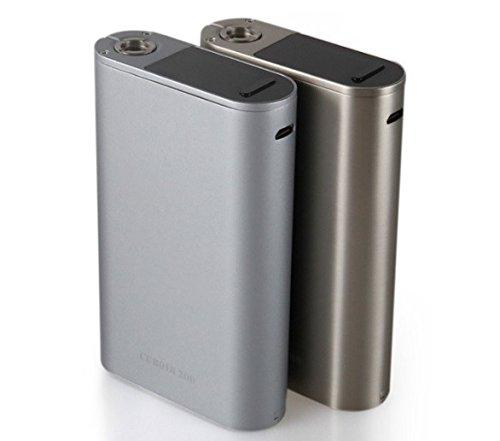 Joyetech MOD Cuboid 200W TC - E-Zigarette ohne Tabak & Nikotin - kein Verkauf unter 18 Jahren - 200 W - Silberfarben