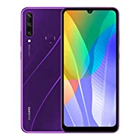 """Huawei Y6p Smartphone with 6.3"""" Dewdrop  Display(3 GB RAM+64 GB ROM, Octa-core Processor, 13MP Triple Camera, ultra wide angle lens, 5000 mAh Large Battery),Purple"""