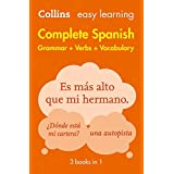 Easy Learning Spanish Complete Grammar, Verbs and Vocabulary (3 books in 1): Trusted support for learning (Collins Easy Learn