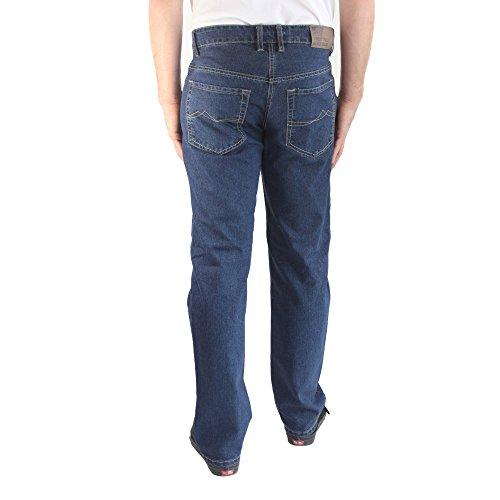 247 JEANS - Herrenjeans, Stretch, Straight Fit, Medium Blue Denim, Palm S01, N304S01002 medium blue denim