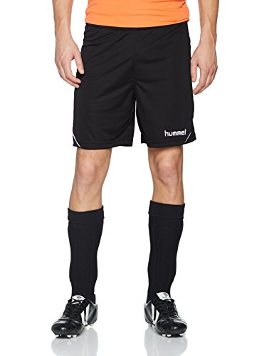 hummel Herren Auth Charge Poly Shorts, Black, S