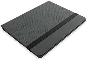 Belkin Flip Folio Stand (geeignet für Apple iPad 2) schwarz/grau