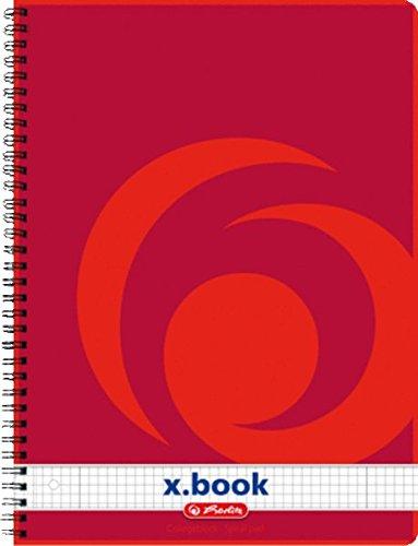 Herlitz Collegeblock A4, 80 Blatt, 70 g/m
