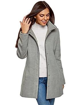 oodji Collection Mujer Abrigo co