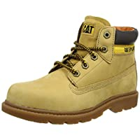 Caterpillar Boys Colorado Desert Boots, Yellow (Honey Reset), 10 UK Child (27.5 EU)