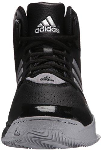 Adidas Performance 2 chaussure de basket surpasser, noir / lumiÚre Onix / argent métallisé, 6,5 M Black/Light Onix/Silver Metallic