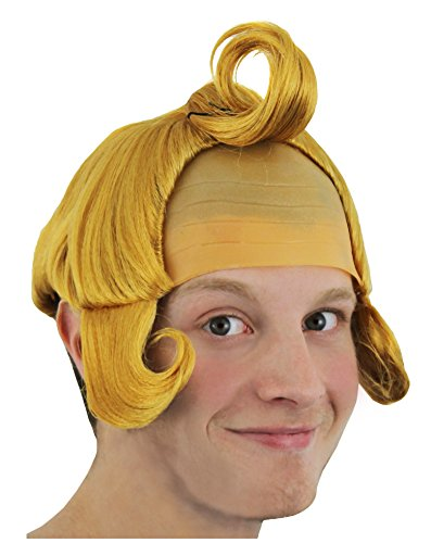 I Love Fancy Dress ILFD2166 Munchkin Wig One Size Fits Most - Adults