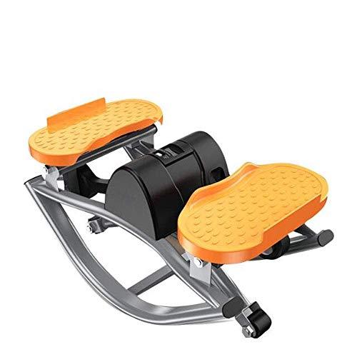 nts fitness addominale multifunzione mini stepper climatizzatore fitness esercizio macchina altalena con display lcd e acciaio bilanciamento del movimento dimagrante