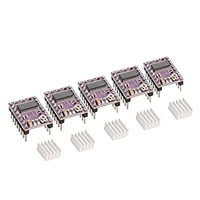5 Stück StepStick DRV8825 Schrittmotor Treiber für RepRap Prusa Mendel 3D Drucker SX111
