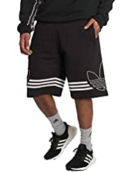 adidas Outline Short Uomo, Black, M