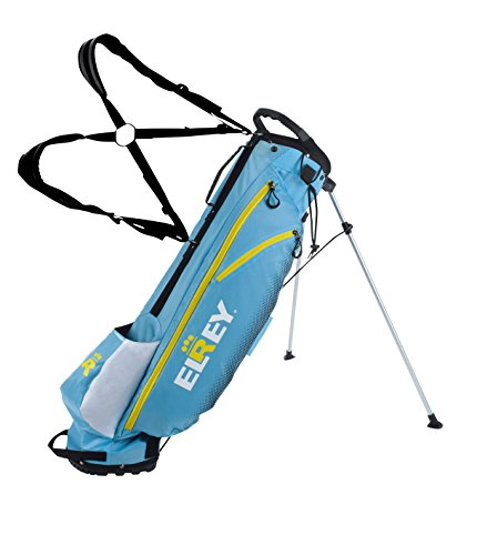 Elrey Golf 7 Inch Lite Stand Bag Multi Colour (Aqua/NEON/White)