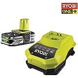 Ryobi RBC18L25 Chargeur 1h et batterie lithium-ion 18V 2,5Ah