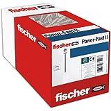 fischer 200 x spaanplaatschroef Power-Fast II 4,0x35, verzonken kop met kruiskop volledige schroefdraad galvanisch verzinkt,
