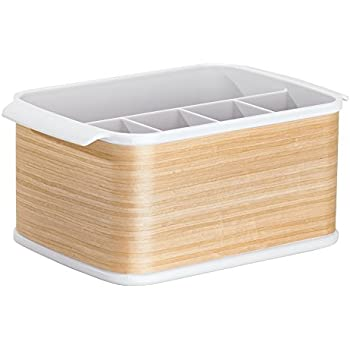 besteckbox holz besteckkorb besteckkasten f r besteck l ffel gabel messer shabby antik amazon. Black Bedroom Furniture Sets. Home Design Ideas