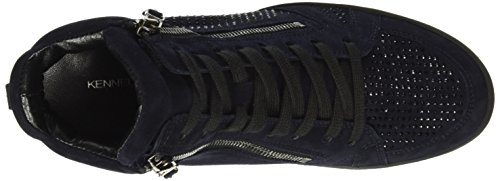 Kennel und Schmenger Schuhmanufaktur  Soho, Sneakers Basses femme Bleu (ocean/black Sohle schwarz 488)