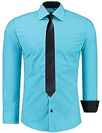 Amazon Fr Turquoise Chemises T Shirts Polos Et Chemises