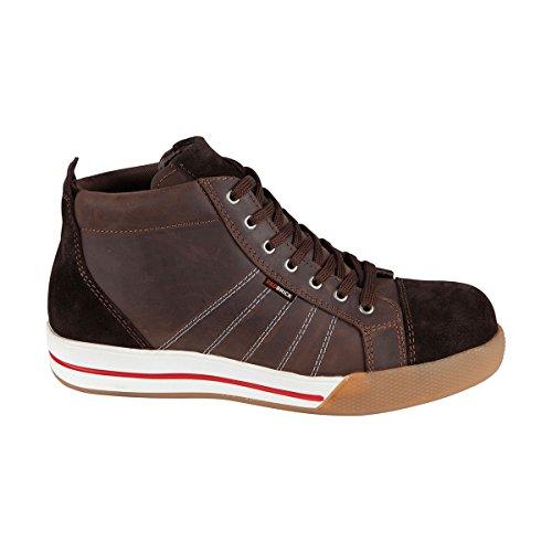Redbrick - Chaussure De Sécurité Red Brick Haute Marron