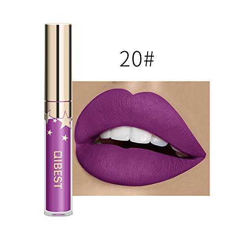 friendGG Sexy Long Lasting Lip Lingerie Matte Flüssiger Lippenstift Wasserdichter Lipgloss Makeup Sexy Mushroom Lipstick Wasserdichter Matte Long Lasting Moisture Lipgloss