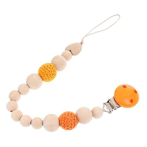 Magideal-Holz-Perlen Beißring für Kleinkinder Taglia uncia #3