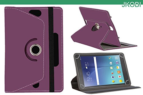 Jkobi 360* Rotating Front Back Tablet Book Flip Flap Case Cover Compatible For Samsung Galaxy Tab S2 8.0 -Purple  available at amazon for Rs.225