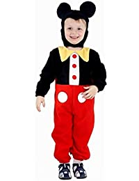 BOYS GIRLS TODDLER MICKEY MOUSE CLUB HOUSE FANCY DRESS COSTUME FITS 2 - 4 YEARS