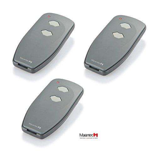 3 x Marantec Digital 382 Mini Handsender 433 MHz * Nachfolger Digital 302 * - Funksender Fernbedienung Garagentoröffner 122421 433 Mhz Mini