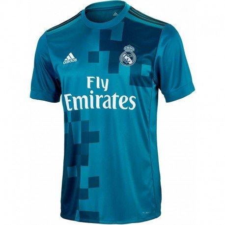 adidas Men s 3 Jsy 3rd Kit Real Madrid 2017-2018 T-Shirt - 7f53ea871