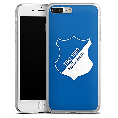 Apple iPhone 8 Slim Case Silikon Hülle Schutzhülle TSG Hoffenheim Fanartikel Fußball Silikon Slim Case transparent