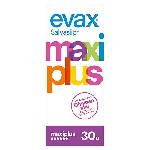 Evax Salvaslip Maxi Plus Protegeslips - 30 unidades
