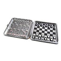 Quantum-Abacus-Azerus-Alu-Line-Aluminium-Leder-Box-2-in-1-Spielset-B-Schach-Xiangqi-mit-magnetische-Spielsteinen-Spielbrett-115cm-x-115cm-x-07cm-XY009P2N-DE Quantum Abacus Azerus Alu Line: Aluminium-Leder Box 2-in-1 Spielset B: Schach, Xiangqi – mit magnetische Spielsteinen, Spielbrett 11,5cm x 11,5cm x 0,7cm (XY009P2N DE) -