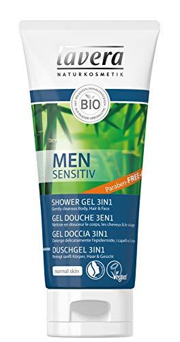 Lavera Men Sensitive Gel Doccia 3 1 200 ml.