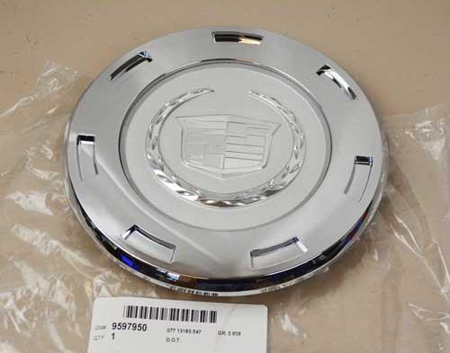 2007-2011-cadillac-escalade-22-7-spoke-wheel-center-hub-cap-silver-oem-new-by-chevy-gmc-gm
