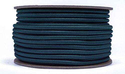 Hunter Green 3/40,6cm Gummiseil, gebohrt Paracord Marine Grade Schock/Bungee/Stretch Cord 3/40,6cm X 100Füße mehrere Farben-Made in USA -