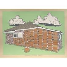 El Garaje suite–Impresión B arte de impresión de pantalla de seda de edición limitada impresión Jay Ryan Original firmada y numerada pájaro máquina impresiones, arte impresión