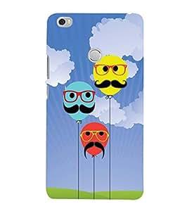 YuBingo Xiaomi Mi Max :: Xiaomi Mi Max Prime Designer Phone Back Case Cover ( Balloons with Moustaches )