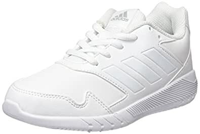 adidas Unisex-Kinder AltaRun K Gymnastikschuhe, Elfenbein (FTWR White/FTWR White/Mid Grey S14), 31 EU