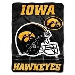 The Northwest Company NCAA Iowa l'Iowa heures supplémentaires Micro Raschel couverture, 152cm par 80po