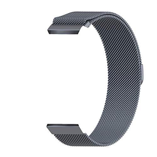 JoyRolly Cinturino con Cinturino in Acciaio Inossidabile di Milano Orologio per Orologio Samsung 46Mm / Gear S3, Lega / 22Mm B